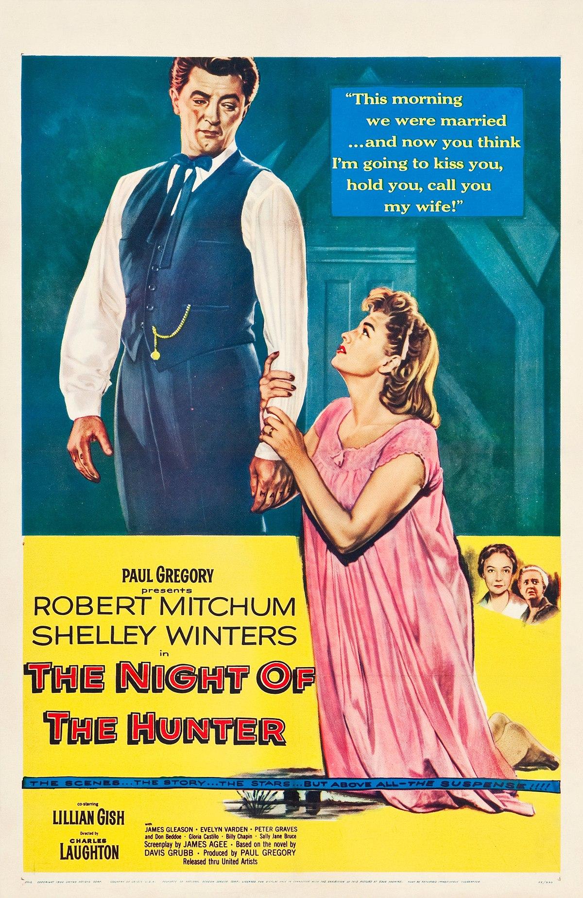 ดูหนังออนไลน์ The Night of the Hunter (1955)